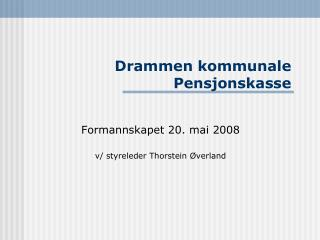 Drammen kommunale Pensjonskasse