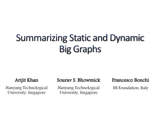 A Study of Graph Mining Algorithms