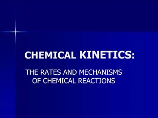 CHEMICAL KINETICS: