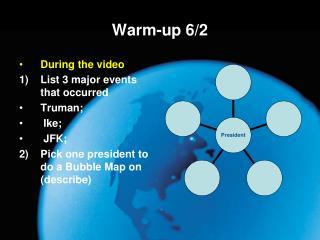 Warm-up 6/2