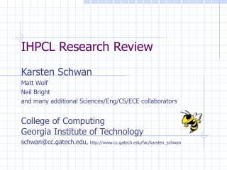 IHPCL Research Review