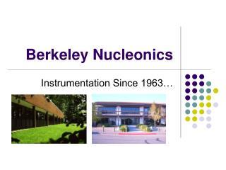 Berkeley Nucleonics