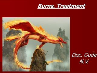 Burns .  Treatment