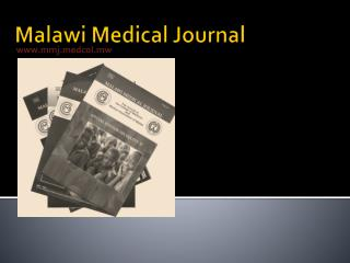 Malawi Medical Journal