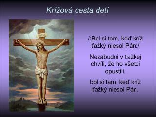 Krížová cesta detí