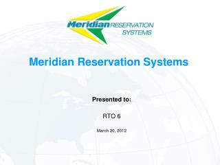 Meridian Reservation Systems
