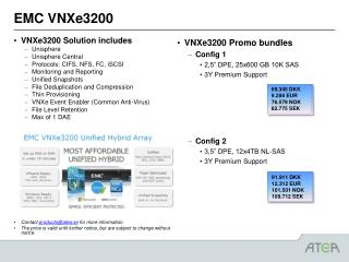 EMC VNXe3200