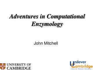 Adventures in Computational Enzymology