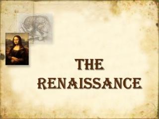 Italian Renaissance The Artistic Context