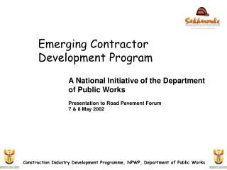 Emerging Contractor Development Program