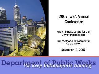 2007 IWEA Annual Conference