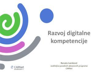 Razvoj digitalne kompetencije