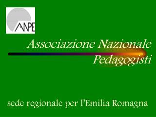 Associazione Nazionale Pedagogisti