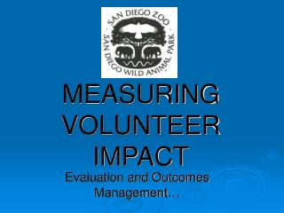 MEASURING VOLUNTEER IMPACT