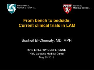 From bench to bedside:  Current clinical trials in LAM
