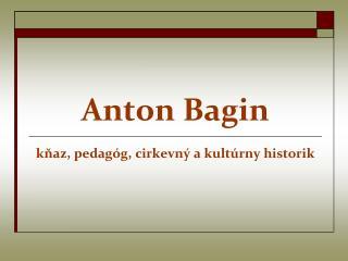 Anton Bagin