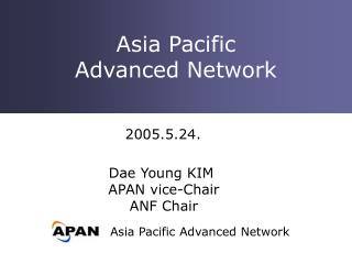 Asia Pacific Advanced Network