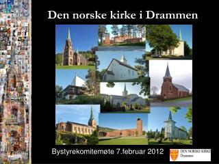 Den norske kirke i Drammen