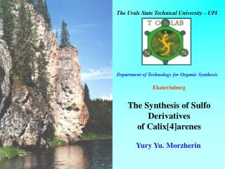 The Synthesis of Sulfo Derivatives  of Calix[4]arenes