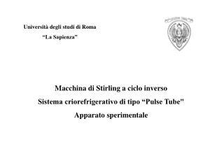"""Università degli studi di Roma """"La Sapienza"""""""