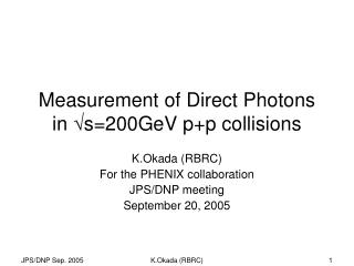 Measurement of Direct Photons in  ? s=200GeV p+p collisions