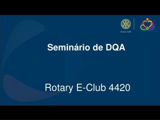 Seminário de DQA