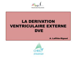 LA DERIVATION VENTRICULAIRE EXTERNE  DVE