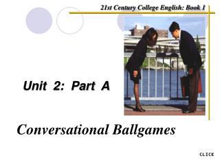 Unit  2:  Part  A