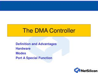 The DMA Controller