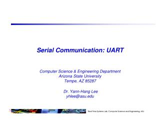 Serial Communication: UART