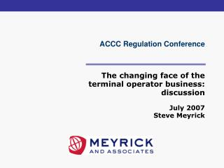 ACCC Regulation Conference
