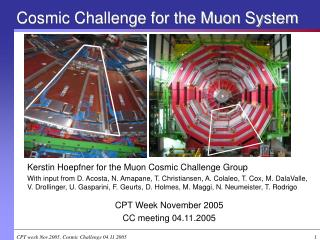 Cosmic Challenge for the Muon System