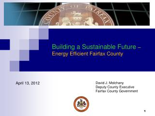 Building a Sustainable Future  – Energy Efficient Fairfax County