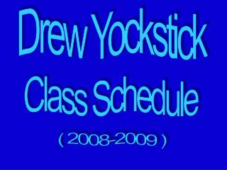 Drew Yockstick