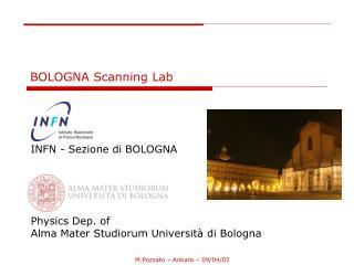 BOLOGNA Scanning Lab