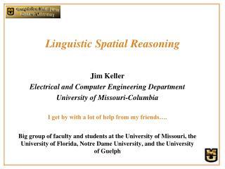 Linguistic Spatial Reasoning