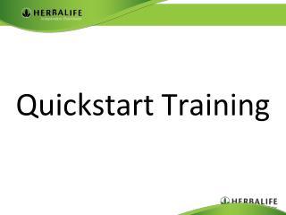 Quickstart  Training