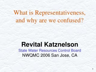 What is Representativeness,  and why are we confused?