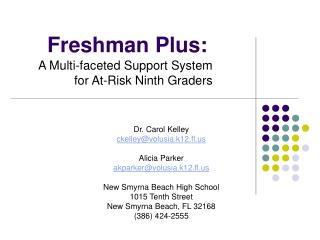 Freshman Plus: