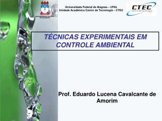 Prof. Eduardo Lucena Cavalcante de Amorim