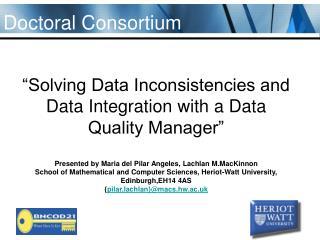 Doctoral Consortium