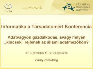 2010. november 11-12. Balatonf�red
