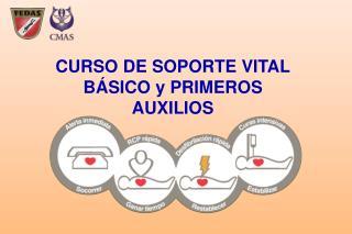 CURSO DE SOPORTE VITAL BÁSICO y PRIMEROS AUXILIOS