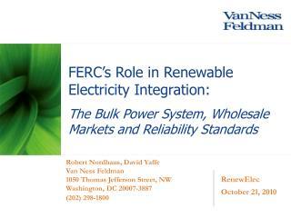 RenewElec October 21, 2010
