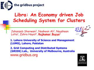 Libra: An Economy driven Job Scheduling System for Clusters