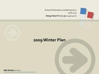 2009 Winter Plan