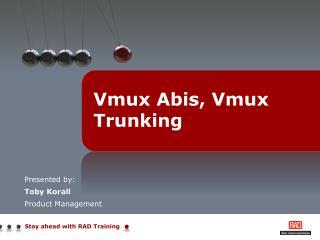 Vmux Abis, Vmux Trunking