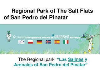 Regional Park of The Salt Flats of San Pedro del Pinatar