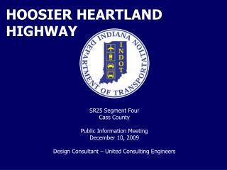 HOOSIER HEARTLAND HIGHWAY