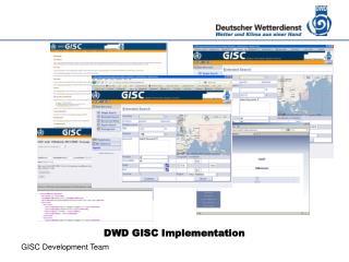 DWD GISC Implementation
